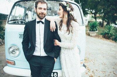De autocarro para o vosso casamento: descubram porque devem deixar o vosso carro em casa!