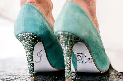 5 tipi di scarpe da sposa che non passerranno mai di moda