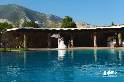 Real Wedding: Atemporal y encantadora, así fue la boda de Aída y Alex en Monterrey... ¡Wow factor!