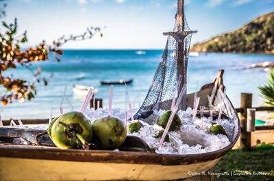 Casamento na praia: escolha o cardápio perfeito!