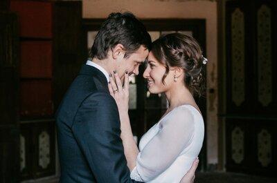 Romanticismo y amor en estado puro: la boda de Gemma y Kiko