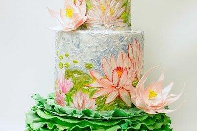 Amanti dell'arte? Regalatevi una wedding cake ispirata ai grandi capolavori!