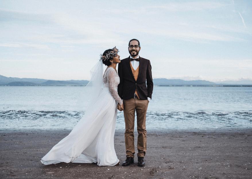 Con el mar de testigo: Karina & Amaral
