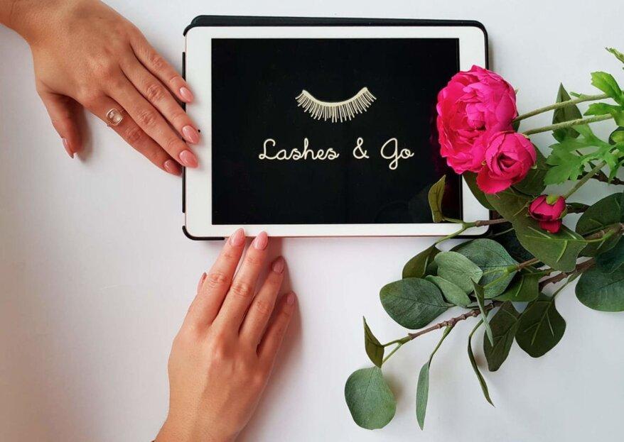 Lashes & Go: extensiones de pestañas de máxima calidad para enamorar con tu mirada de novia