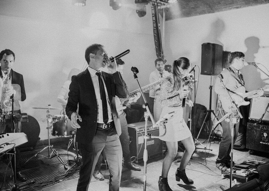 La fiesta de tu boda en manos de expertos: ¡Orquesta Son del Fuego la hará inolvidable!
