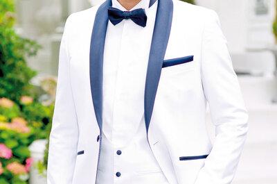Les tenues de marié Johann pour votre mariage : Un look masculin, charismatique et élégant
