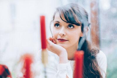 Maquillaje de ojos y labios 2017 para novias. Conoce las tendencias de la temporada