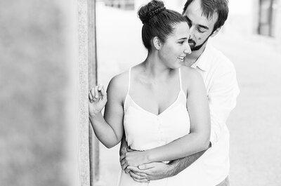 Sílvia e Ricardo: uma bonita e descontraída sessão de solteiros!