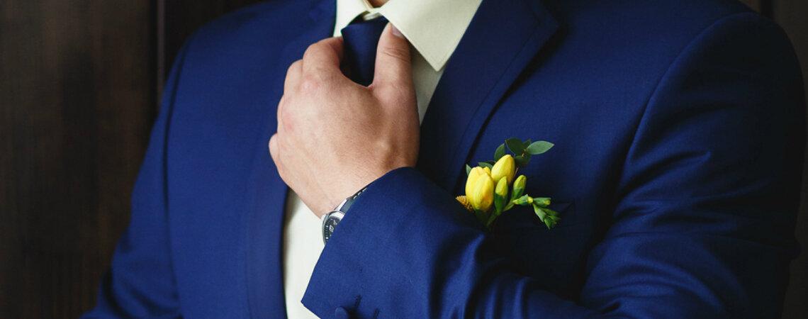 Jak wybrać krawat dla Pana Młodego? Rady specjalistów!