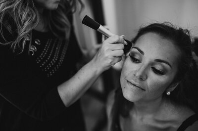 Makeup: Jordana Carraça Stylist and Makeup Artist. Cabelos: Rita Vicente. Wedding Planner: Something Borrowed. Fotografia: Golden Days Photography