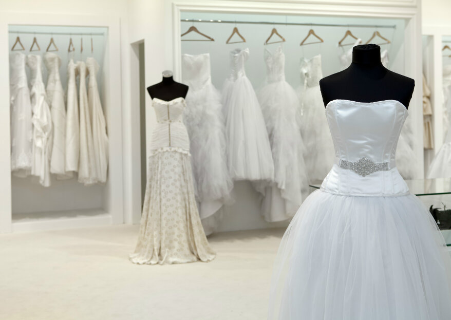 """Vestidos de novia para disimular """"defectos"""". ¡Luce sin complejos!"""
