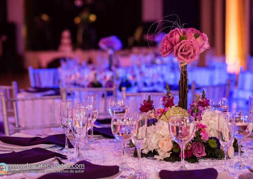 No te pongas a organizar tu boda, deja que Bacatá Eventos lo haga