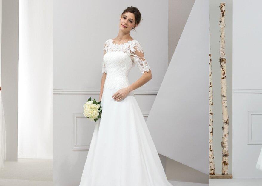 Robes de mariée modernes ou traditionnelles ? Faites votre choix chez Karyce Boutique !