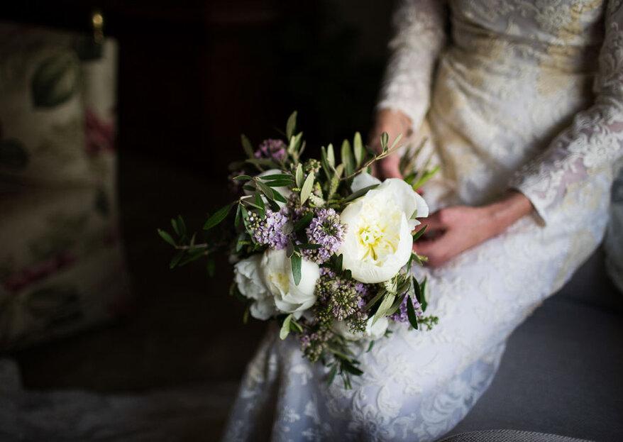 Muscari by Natalia Palacios es un regalo para triunfar con las flores de tu boda
