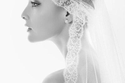 Sélection de voiles de mariée en dentelle