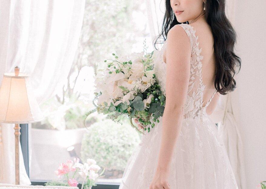 Classique: editorial clássico e delicado elaborado especialmente para noivas românticas