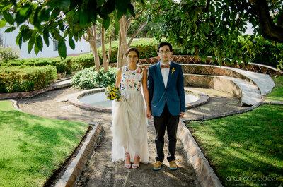 La boda hipster perfecta y un vestido de novia único: El gran día de Luisa y José
