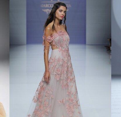 Robes de mariée de couleur  donnez du pep\u0027s à votre look!