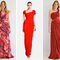 Vestidos vermelhos de para diversos estilos. Fotos: Carlos Miele e DKNY