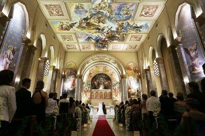 Casamento clássico de Morgana & Maicon: