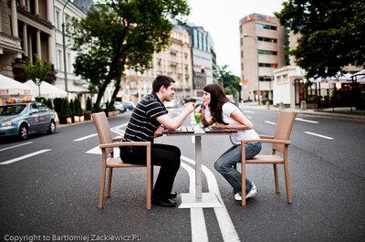 Sesja narzeczeńska- romantyczne zdjęcia ślubne