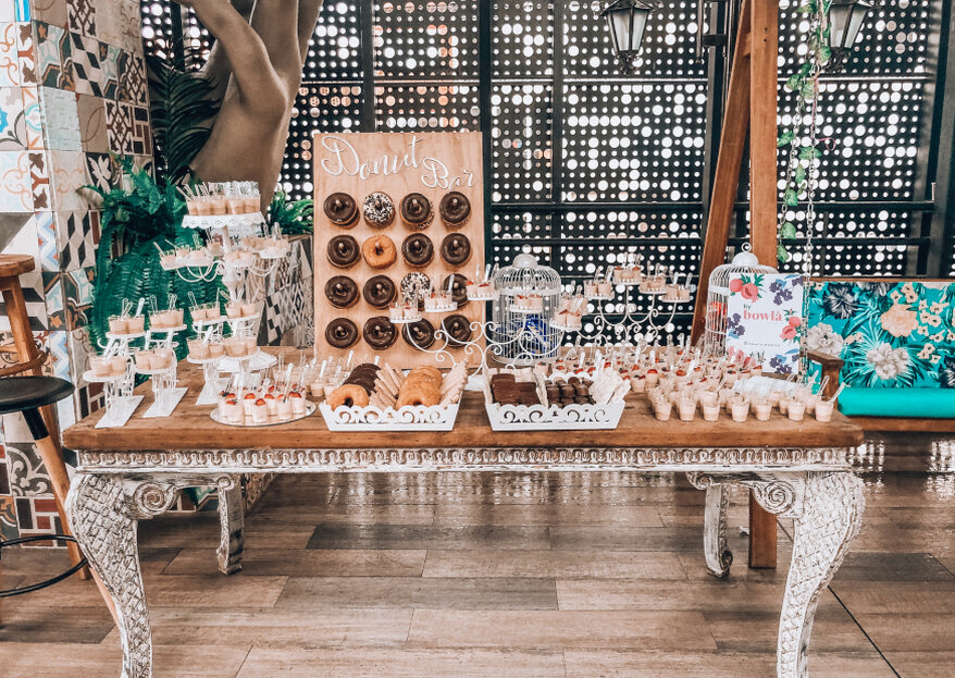 ¿Porciones 'mini' en tu boda y los eventos previos? Esto sugiere Bowla Events