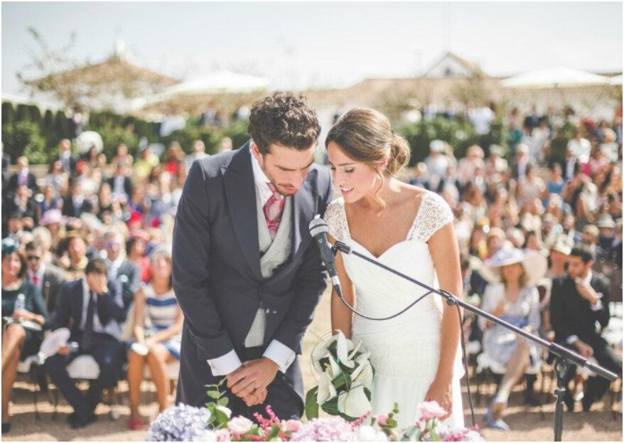 Cómo organizar una boda multitudinaria. ¡Te lo contamos en 5 pasos!