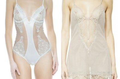 Novidades em lingerie para as noivas de 2014