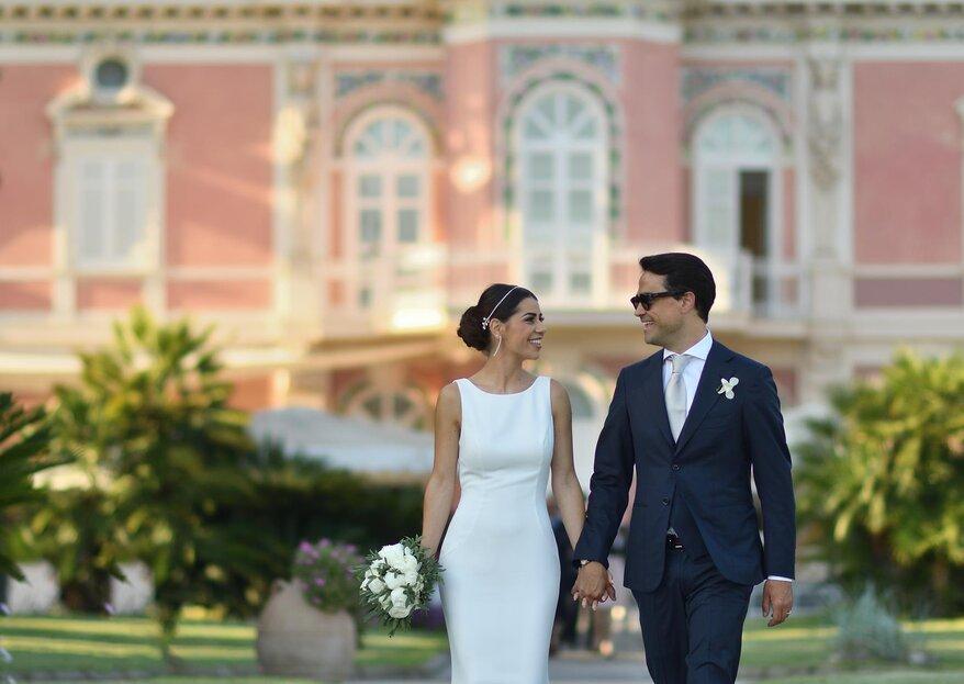 """""""I ragazzi che si amano"""": il matrimonio di Antonio e Martina"""
