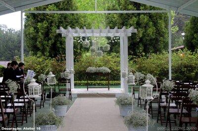 Detalhes lindos e surpreendentes na decoração de casamento