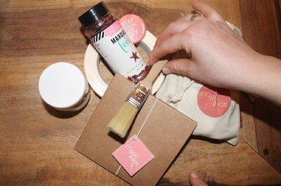 La rédac a testé pour vous : My Do It Box, la déco mariage canon à faire soi-même !