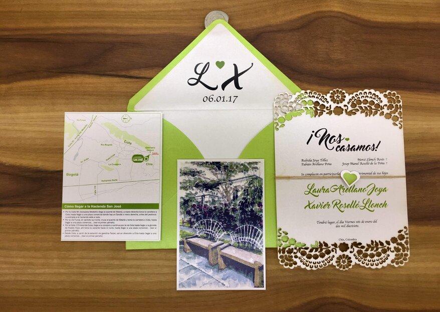 Kiiru y sus consejos para una invitación de bodas inolvidable