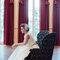 Solaine Piccoli, vestido de noiva duas peças.