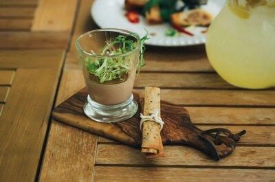 11 идей для свадебного стола, если вы — вегетарианцы!