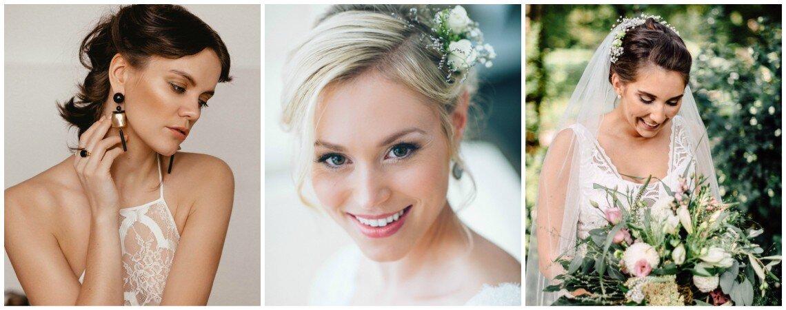 Brautfrisur und Make-up – Wie man sich als Braut richtig stylt