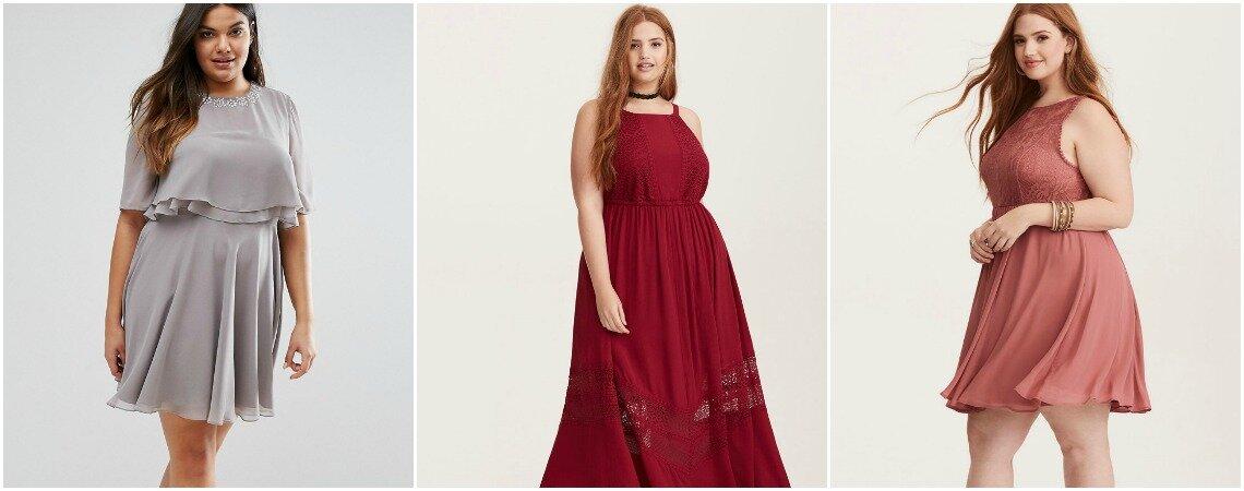 30 sukienek na wesele plus size. Wszystkie trendy od niesamowitych projektantów!