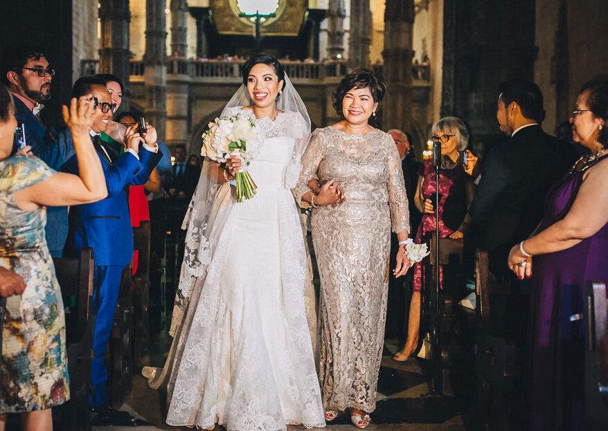 """Maneiras """"queridas"""" de fazer a sua mãe se sentir especial no dia do seu casamento"""