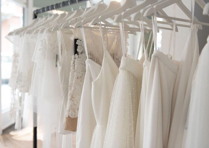 Zauberhafte Designerbrautkleider exklusiv bei ROSA Bridal Fashion!