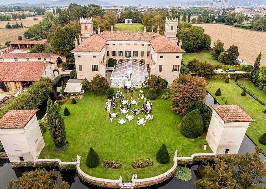 Villa Il Labirinto: l'eccellenza di una dimora storica bresciana per le tue nozze