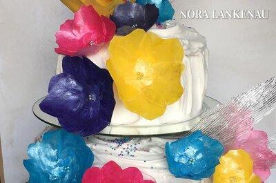 5 razones por las que deberás tener un pastel y mesa de postres personalizada para tu gran día. ¡Todos lo amarán!
