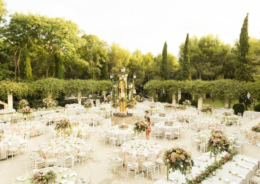 7 detalles por los que deberías celebrar tu boda en Masía de Xamandreu