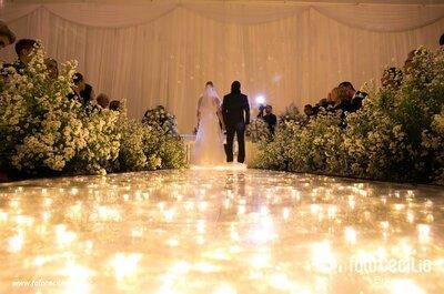 Como decorar o caminho ao altar: dicas LINDAS e diferentes!