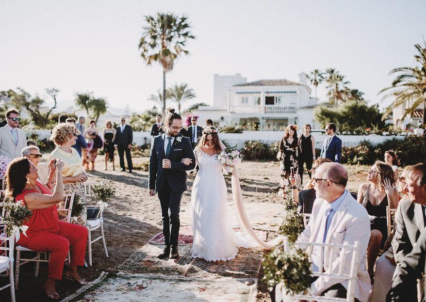 El mejor guion para una boda civil diferente consta de 4 partes