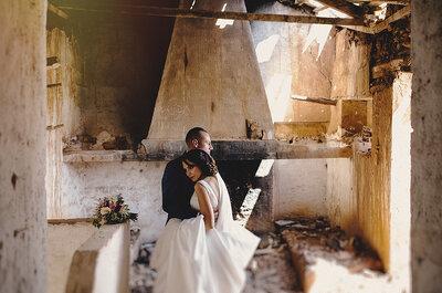 Wie man eine minimalistische Hochzeit gestaltet! Manchmal ist eben weniger mehr