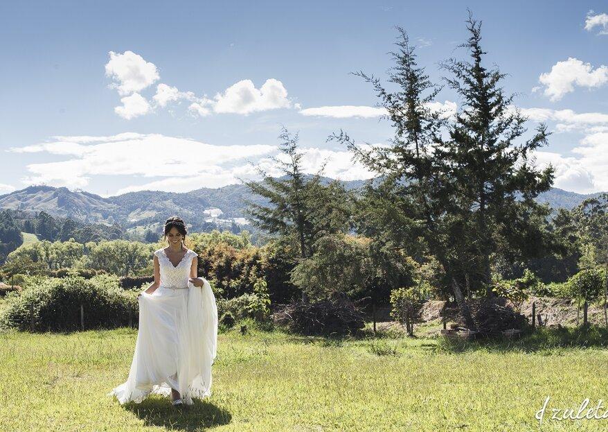 Novias eco-friendly: cómo serlo y verse increíble el día de la boda