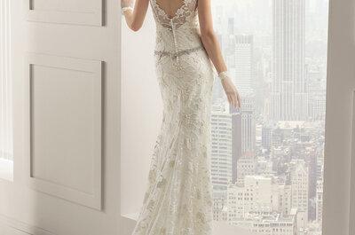 Dresses for petite brides: Lengthen your silhouette