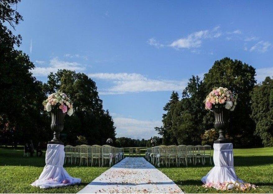 Villa Trivulzio di Omate, una location ricca di storia e personalità per nozze da favola!