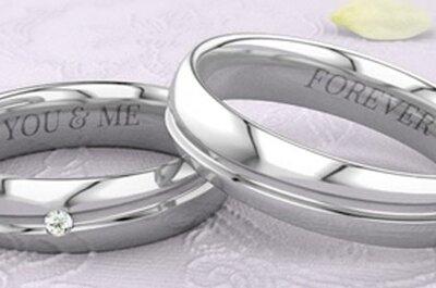 21DIAMONDS te ofrece una amplia colección de joyas personalizadas para tu boda