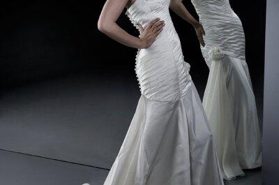 Pure Eleganz: Die Brautmoden-Kollektion der Modedesignerin Eva Poleschinski