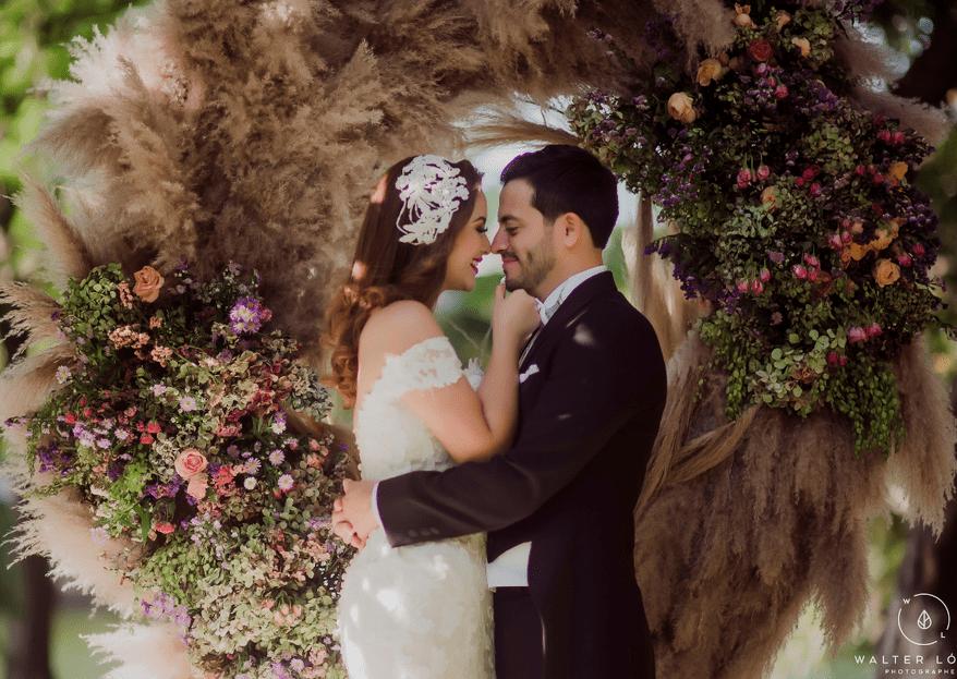 Detengamos el tiempo para amarnos: la boda de Paola y Dimas